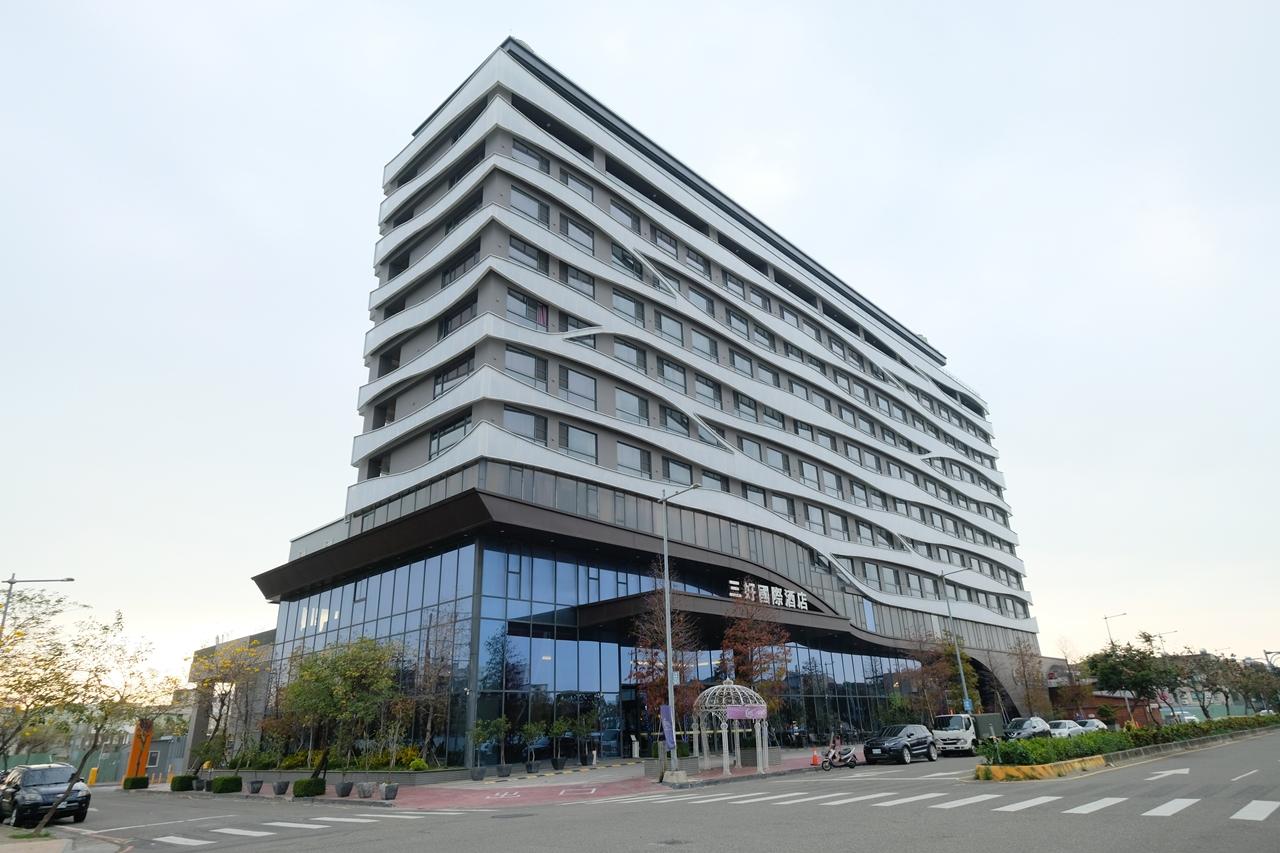 三好國際酒店︳雲林住宿推薦!離斗六車站不遠,有停車場、泳池