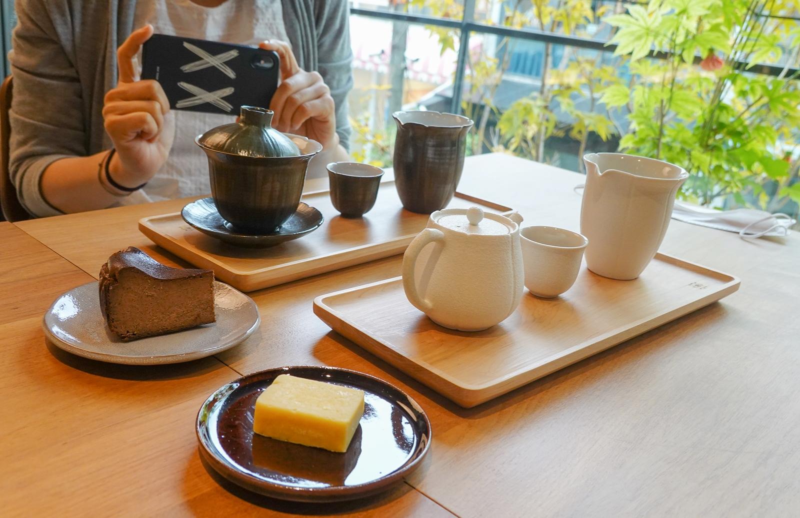 兆兆茶苑︱審計新村附近的台中下午茶館,茶和空間都有質感(菜單)