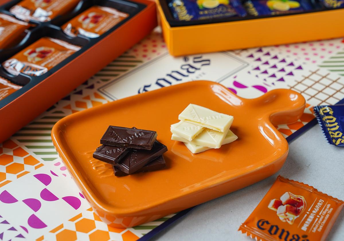 妮娜薄片夾心巧克力