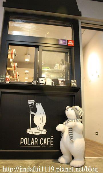 台北東區咖啡︳POLAR CAFE 北極熊主題的特色咖啡店,北極熊棉花糖超療癒