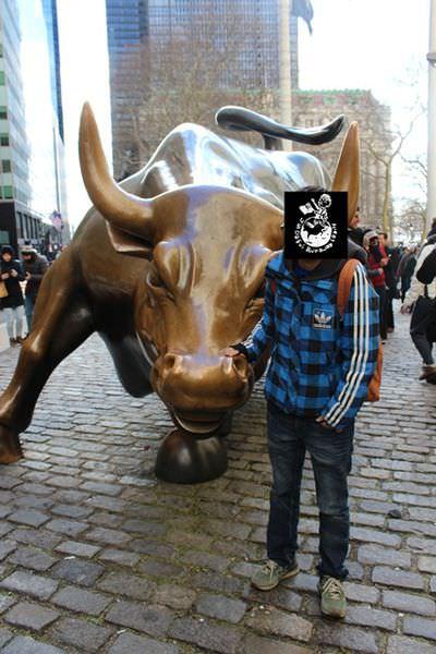 【紐約】華爾街 證券交易所 金牛