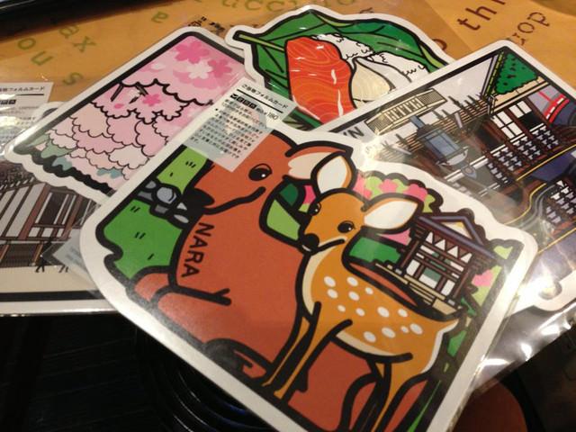 【日本特色明信片】NARA 奈良 (1~5彈)