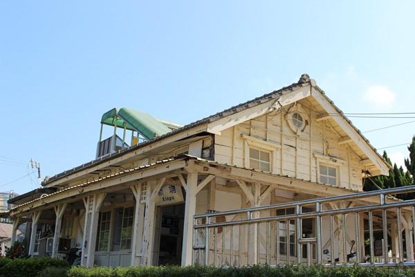 【苗栗】新埔車站 // 是古蹟也是西部最靠近海邊的車站