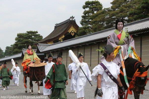 【京都】葵祭 //一場平安時代的遊行