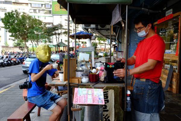 【台北大安區。咖啡】憨人咖啡MODESTONES CAFE // 巷內的個性手沖咖啡小攤車