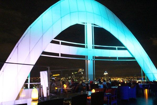【曼谷。Bar】Red Sky Restaurant & Bar//平價的優質高空酒吧
