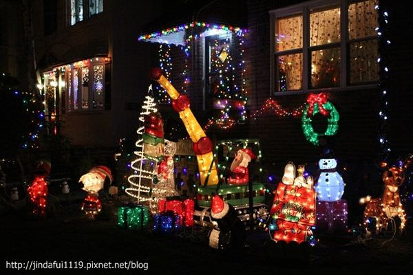 【紐約布魯克林】聖誕期間限定的熱門景點—Dyker Heights//聖誕佈置大Battle!!!!