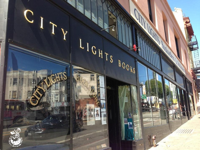 【舊金山】City Light book store 城市之光書店