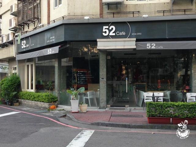 【台中。食】3D小熊拉花的始祖 —- 52Cafe