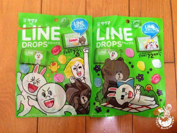 【日本。食】Line糖果 // 適合傳情的食/實用小物