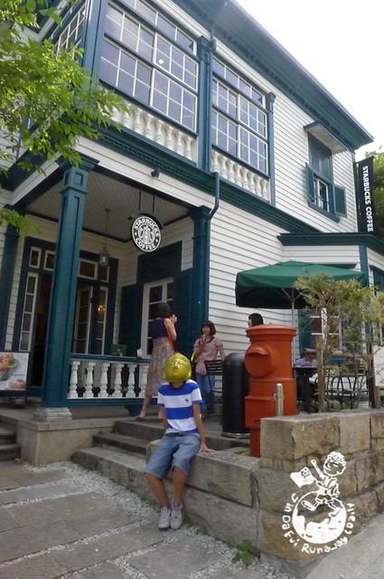 神戶景點︱北野星巴克物語館,STARBUCKS迷不能錯過的特色星巴克