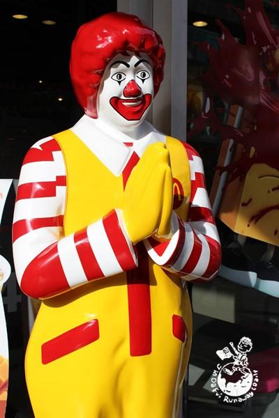 【曼谷。食】McDonald's 麥當勞// 泰國特有麥當勞叔叔和餐點