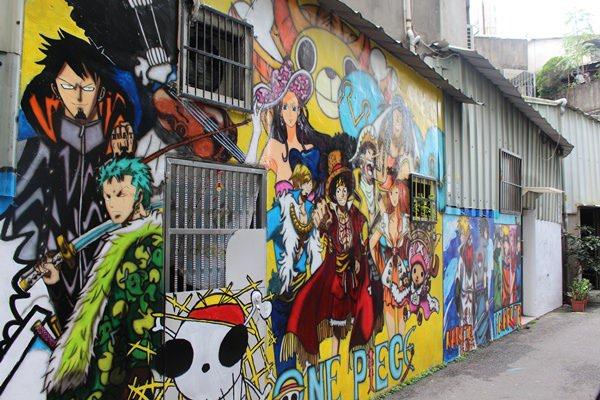 【台中】台中市西區最新熱門景點-動漫彩繪巷